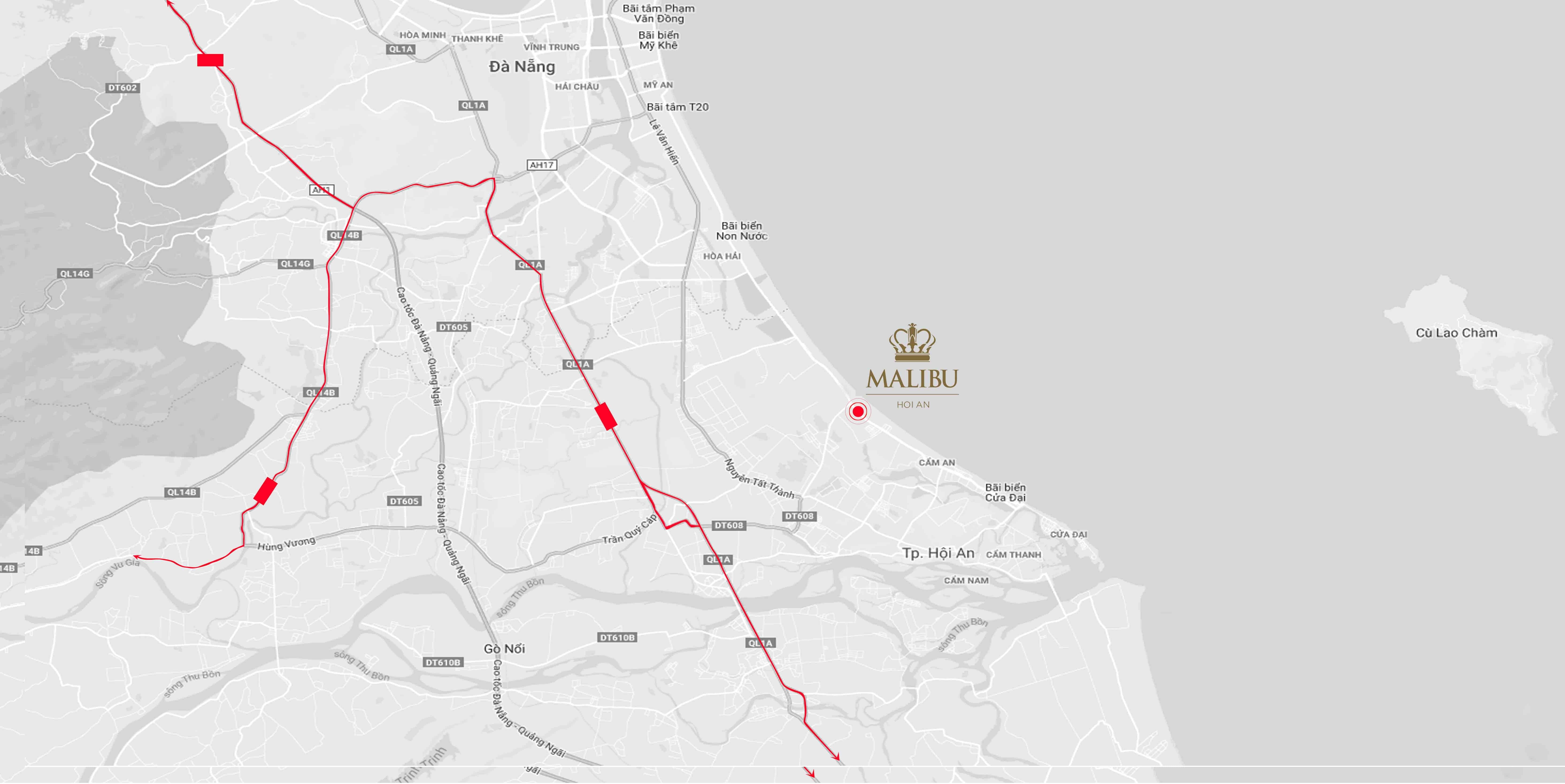 Map Shantira - Đất xanh Đà Nẵng