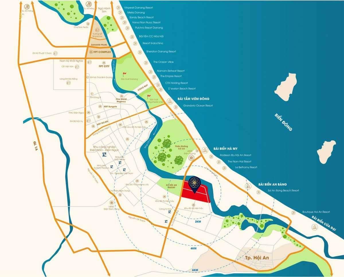 Map ROSA RIVERSIDE COMPLEX <BR/> - Đất xanh Đà Nẵng