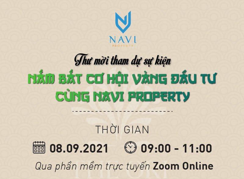 Nắm bắt cơ hội vàng đầu tư cùng NAVI Property