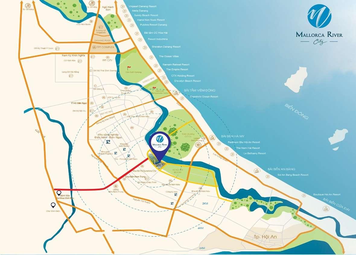 Map MALLORCA RIVER CITY <BR/> - Đất xanh Đà Nẵng